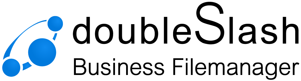 Logo doubleSlash Business Filemanager